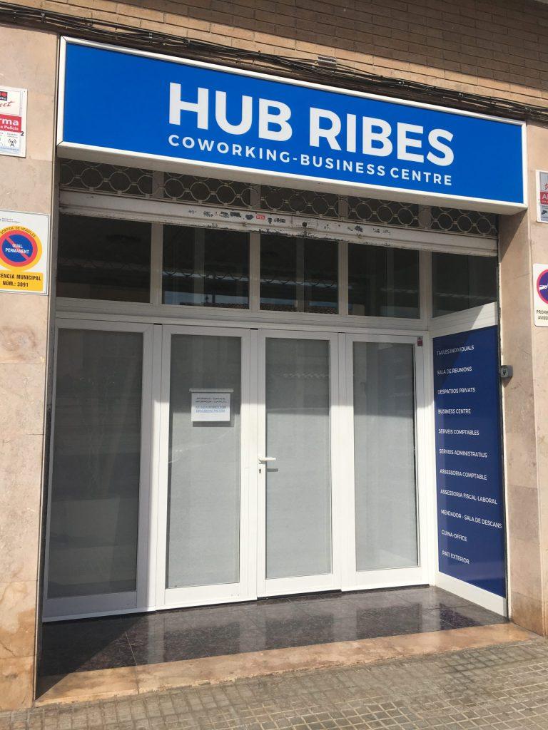 Coworking Sant Pere de Ribes entrada