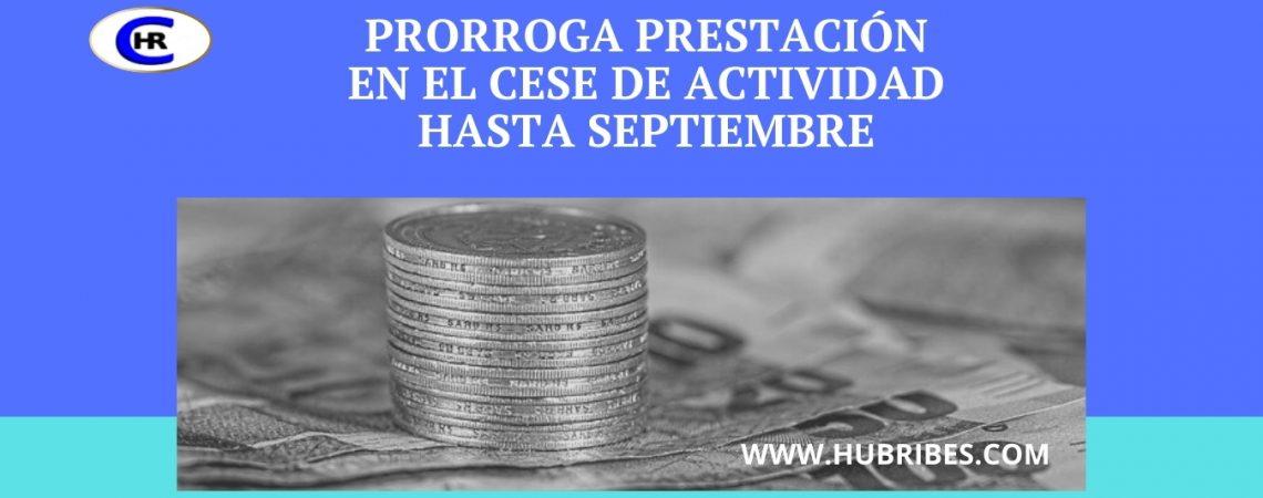 Coworking HUB RIBES Prorroga prestación en el cese de actividad hasta septiembre